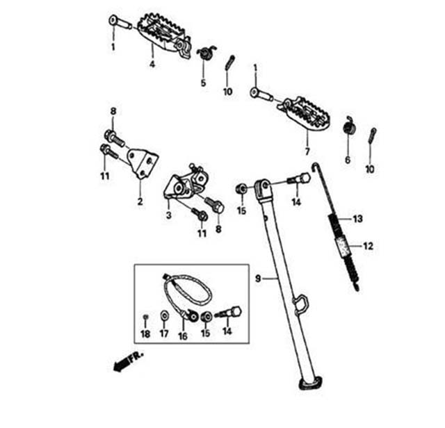 txr450_chassis_PEDAL